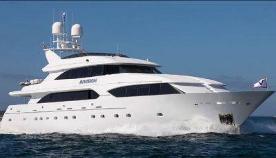 M/Y INVISION 132' 2001/2019 Trideck Westship 3D Model